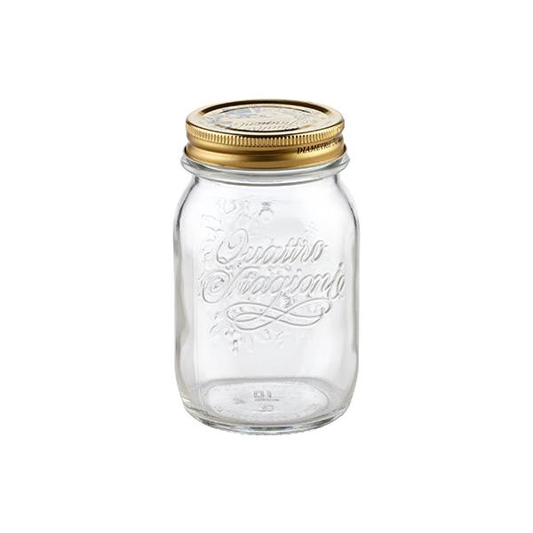 17 oz. Quattro Stagioni Canning Jar 500 ml.