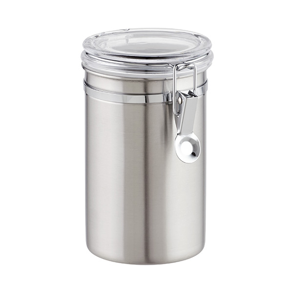 36 oz. Canister Brushed Stainless