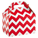 Large Red Chevron Gable Box