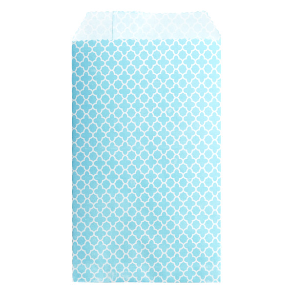Clover Treat Sacks Aqua Pkg/25