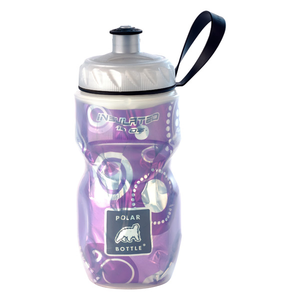 12 oz. Insulated Polar Bottle Purple