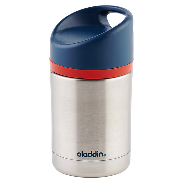 12 oz. Kiddo Vacuum Food Jar Stainless/Blue