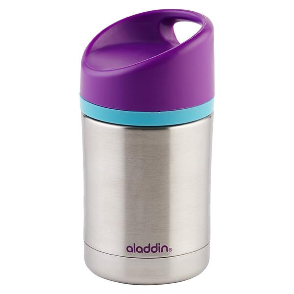 12 oz. Kiddo Vacuum Food Jar Stainless/Purple