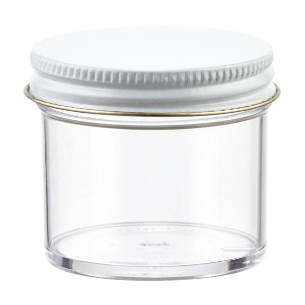 2 oz. Plastic Screw-Top Jar Clear