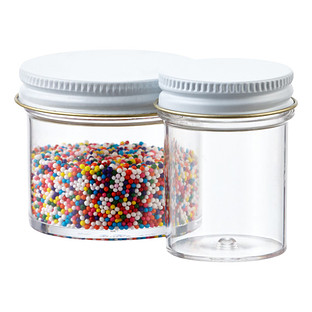 Commercial Plastic Screw-Top Jars