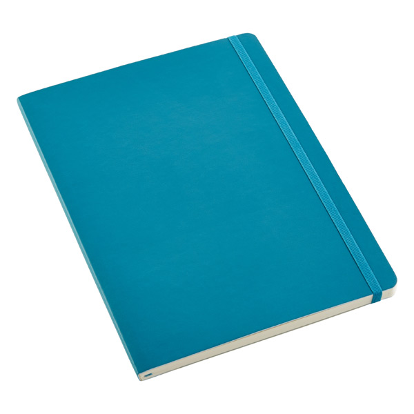 X-Large Moleskine Soft Ruled Notebook Teal