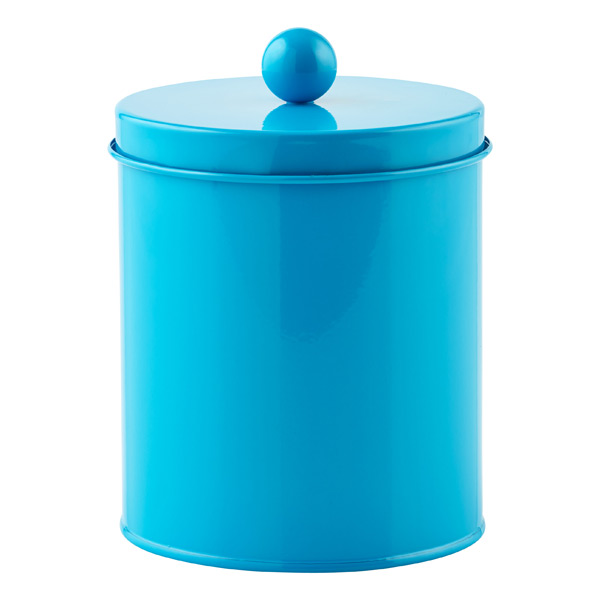 Small Cylinder Tin Blue