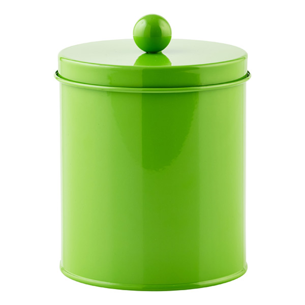 Small Cylinder Tin Green