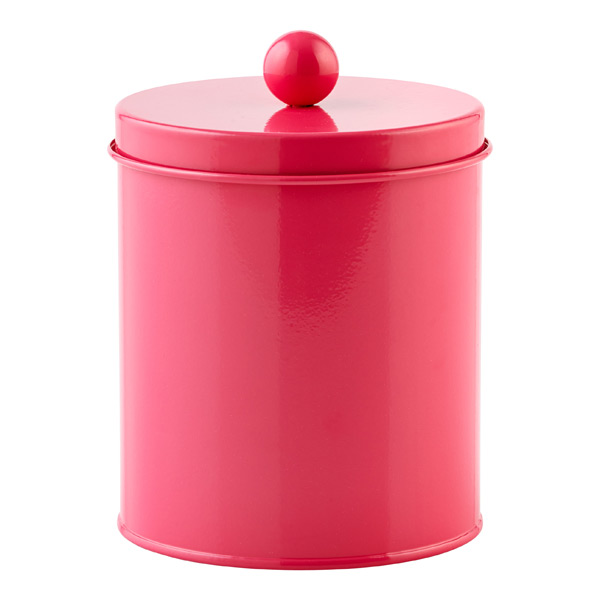Small Cylinder Tin Pink