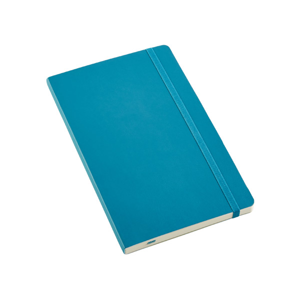 Large Moleskine Soft Ruled Notebook Teal