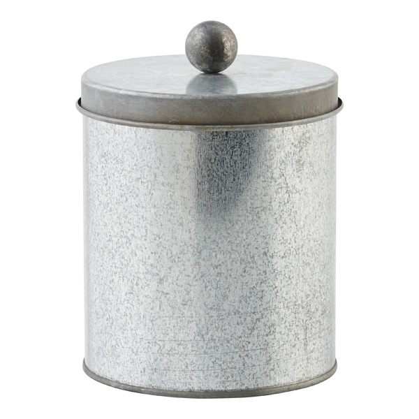Small Cylinder Tin Galvanized