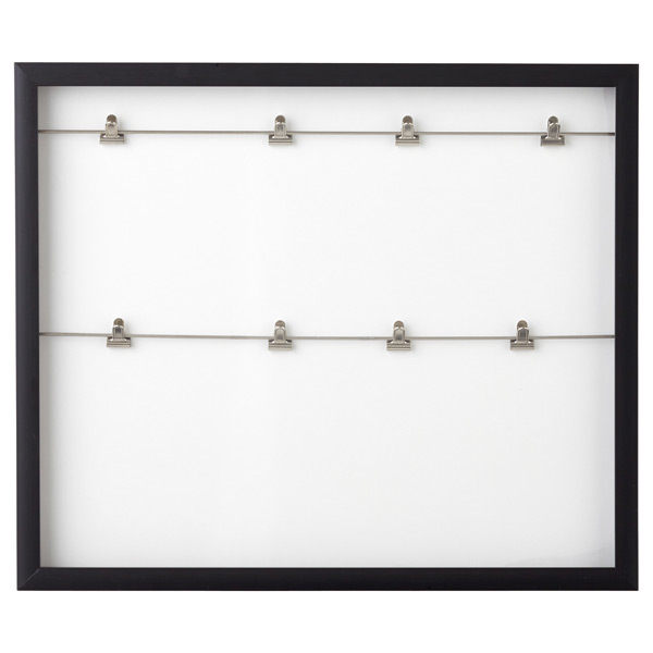 Umbra Clipline Photo Display Frame Black
