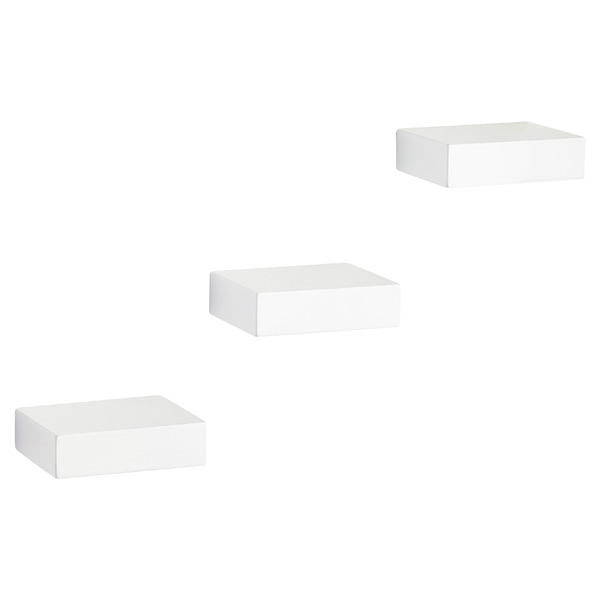 Umbra Showcase Shelves White Set of 3