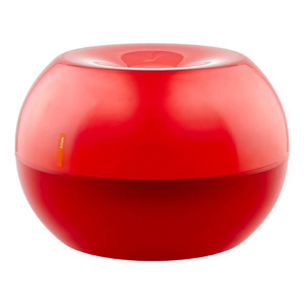 Bubble Stool Red