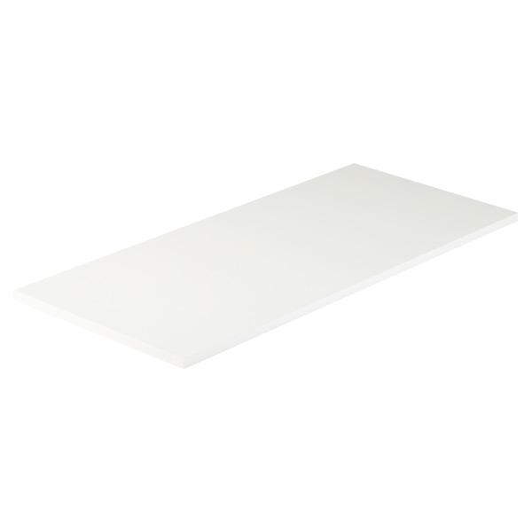 White Melamine Desk Top