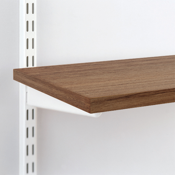 Coffee Melamine Shelves