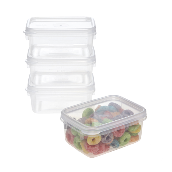 4 oz. Tellfresh Snack Boxes Pkg/4