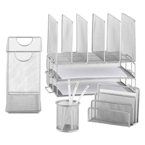 Silver Mesh Collection