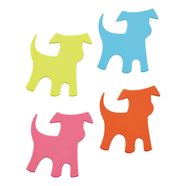 Shape-Up! Dog Magnets Assorted Pkg/4