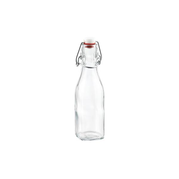8.5 oz. Square Hermetic Bottle 250 ml.