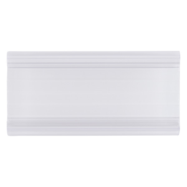 Metro Shelf Label Holders Clear Pkg/4
