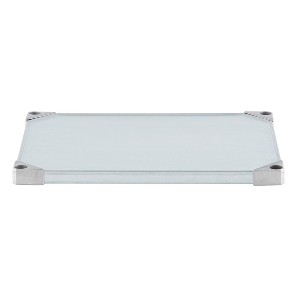 Metro Commercial Galvanized Solid Shelves
