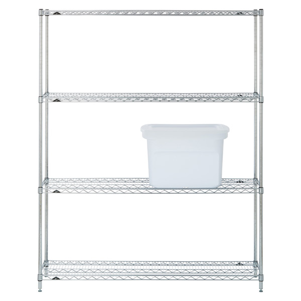 "Metro Commercial Pantry Storage: Metro Commercial 60"" Shelving Solution"