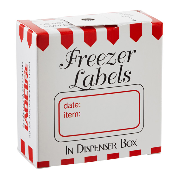 Freezer Labels