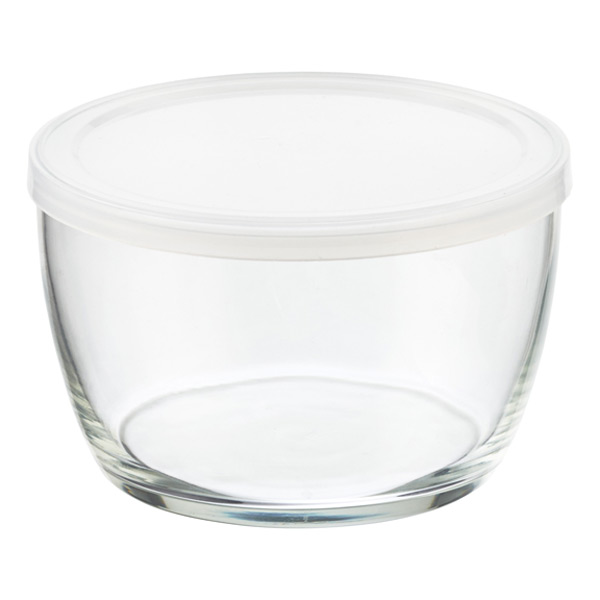 16 oz. Covered Glass Bowl