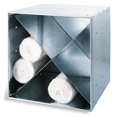 Galvanized QBO® Steel Cube X-Divider