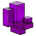 Small Purple Amac Boxes