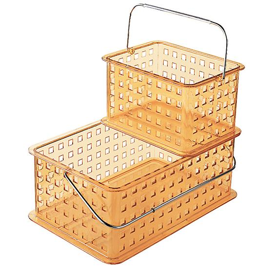 Orange Plastic Totes