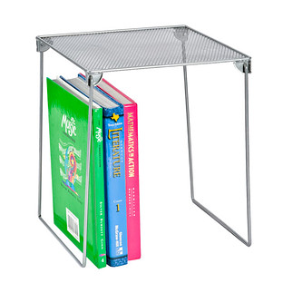 Silver Mesh Locker Shelf