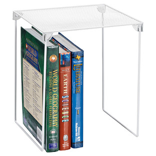 White Mesh Locker Shelf