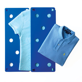 Blue FlipFold Laundry Folder
