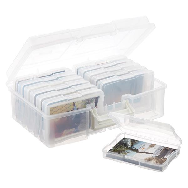 """12-Case 4"""" x 6"""" Photo Storage Carrier"""