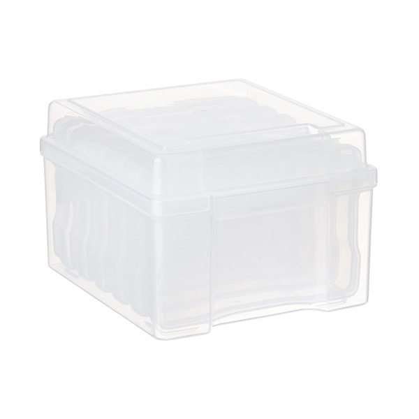 "6-Case 4"" x 6"" Photo Storage Box Translucent"