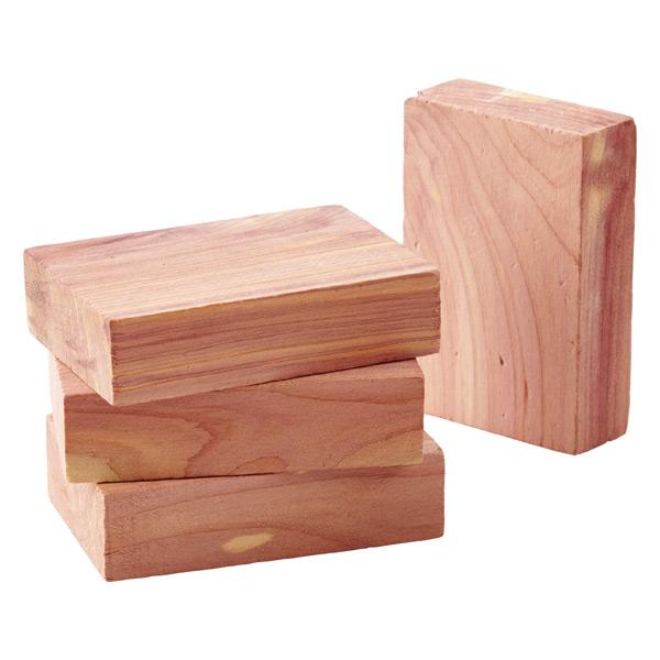 Cedar Blocks Pkg/4