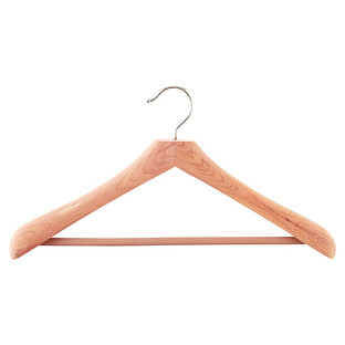Superior Cedar Coat Hanger with Trouser Bar