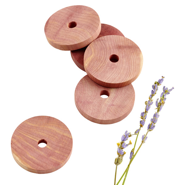 Cedar & Lavender Rings Pkg/12