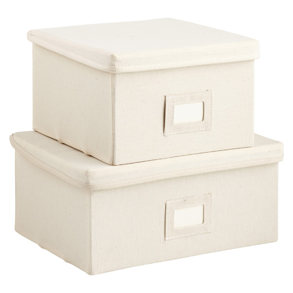 Canvas Boxes