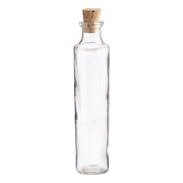 4 Oz Glass Cork Top Bottle The Container Store