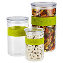 Green Band Presso Glass Canisters by Bodum