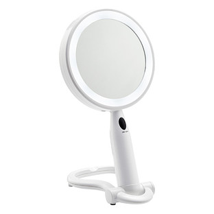 Simplehuman 10x Sensor Folding Mirror The Container Store