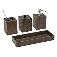 Pandan Bathroom Accessories Sets