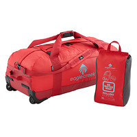 "Eagle Creek Red 36"" Collapsible Rolling Duffel"