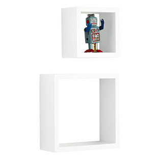 White Display Cubes