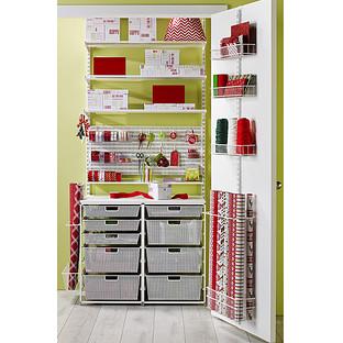 Gift Wrap Storage Closet