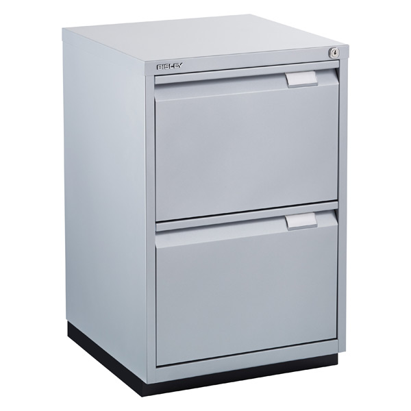 two drawer locking file cabinet 2