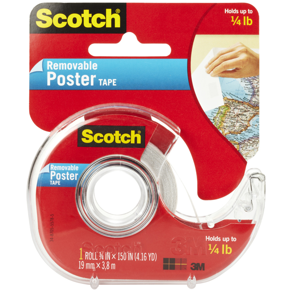 Scotch® Removable Poster Tape